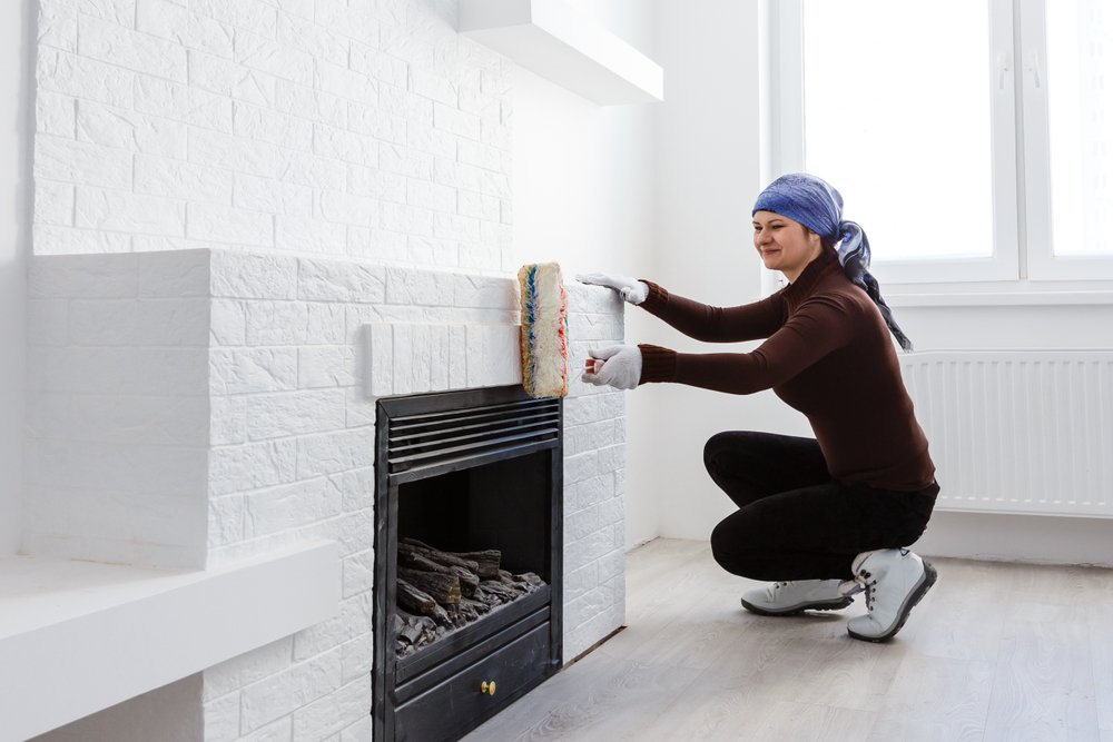Can You Paint The Inside Of A Fireplace
